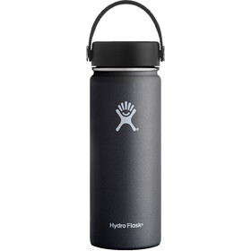 Hydro Flask Wide Mouth Flex Bottle 532ml black
